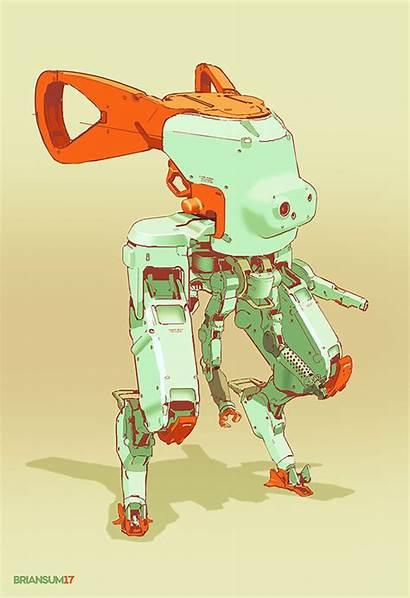 Beep Artstation Sum Brian Robot Robots Cyberpunk