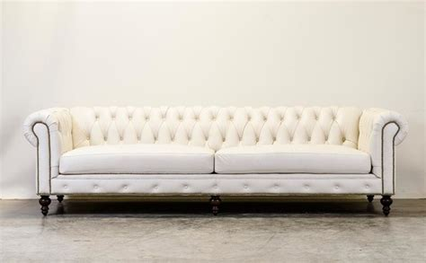 white chesterfield sofa white chesterfield traditional sofas and sectionals