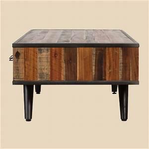Table Salon Metal : meubles tv et tables de salon ~ Teatrodelosmanantiales.com Idées de Décoration