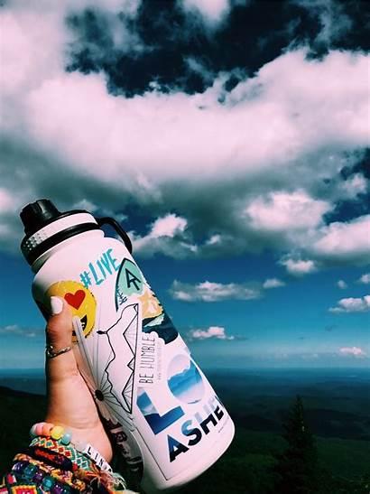 Vsco Stickers Water Hydro Flask Aesthetic Bottles