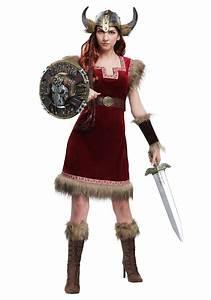 Barbarian Viking Costume for Women