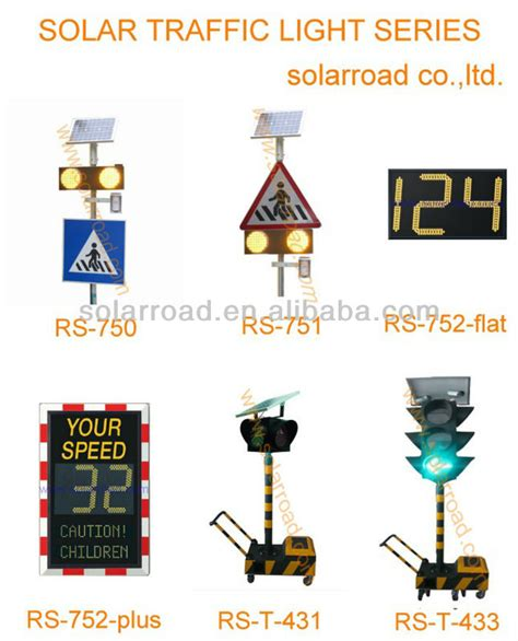 solar pedestrian crossing led warning light buy led