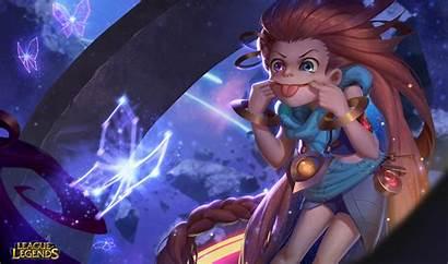 League Legends Zoe Lol Animated Wallpapers Fan
