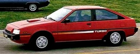 mitsubishi cordia for sale mitsubishi cordia turbo 1982 1989