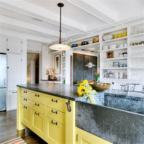 and yellow kitchen ideas yellow kitchen islands