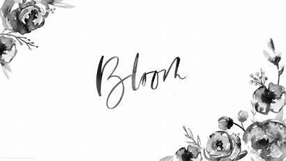 Desktop Watercolor Floral Spring Bloom Saffron