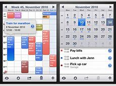 30 Awesome Alternative Calendar Apps for iPhone « iPhone