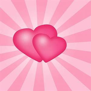 Pink Hearts Background ·① WallpaperTag