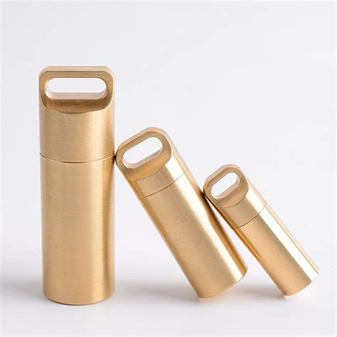 buy high quality pure copper pill cases multifunctional tools seal cabin