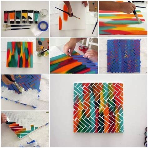 Painting Ideas Diy by Diy Creative Painting Wall