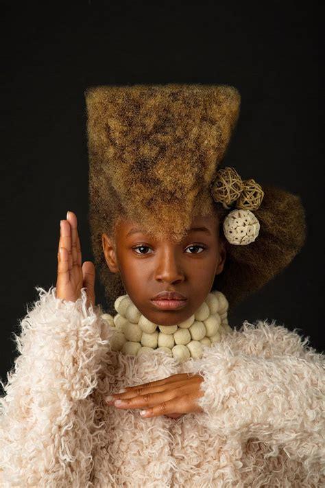 baroque inspired portraits  black girls highlight