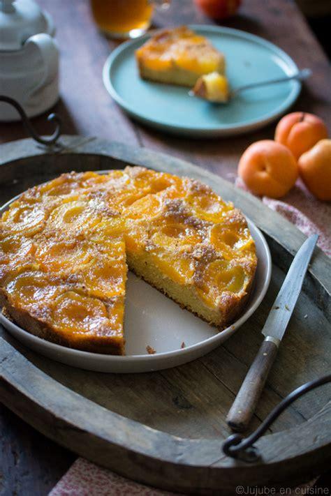 jujube en cuisine gâteau renversé aux abricots jujube en cuisine