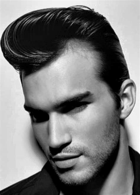 1950s Mens Hairstyles For Curly Hair by Mens Rockabilly Hairstyles Fade Haircut
