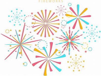 Transparent Fireworks Celebration