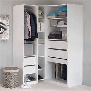 Armoire D Angle Chambre : armoire dressing angle ~ Melissatoandfro.com Idées de Décoration