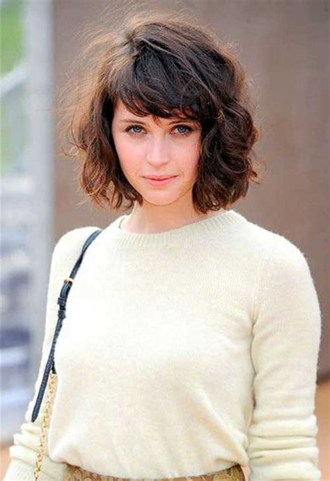 short curly hairstyles  bangs short hairstyles