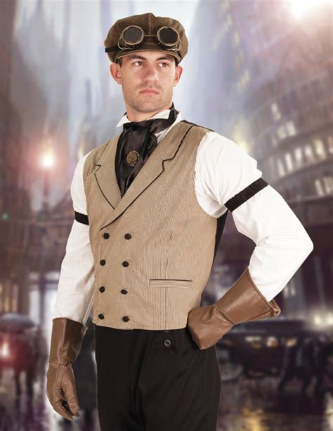 men  ace high steampunk cosplay costumes steampunko