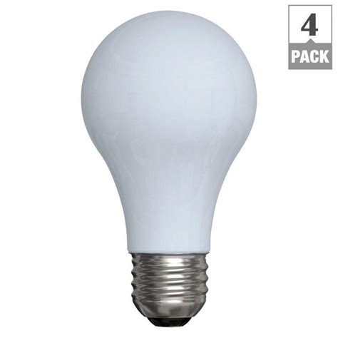 ge reveal 100 watt halogen equivalent a19 light bulb 4