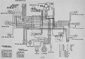 Honda Cl125 Wiring Diagram  61639
