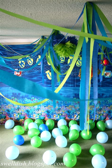 The Swell Dish Ocean Nauticalunder The Sea Party Room Decor