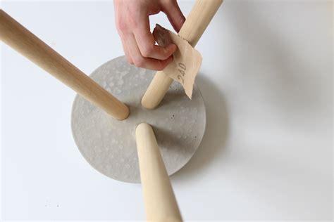 tuto deco chambre tuto fabriquer un tabouret en béton loisirs créatifs