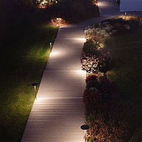 use solar path lights to beautify your garden solar path