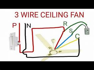 Ceiling Fan Wire Connection Diagram
