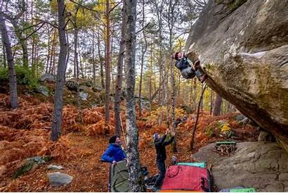 Bouldering Fontainebleau Climbing Rock Paris France Explore