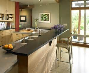 kitchen island with bar seating 5 design ideas for kitchen islands with seating doorways magazine