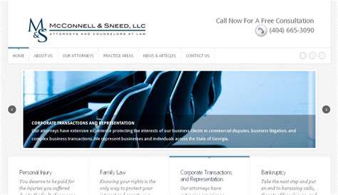 firm web designer firm website redesign recently launched by general