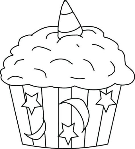 unicorn cupcakes coloring pages cakes cupcake coloring
