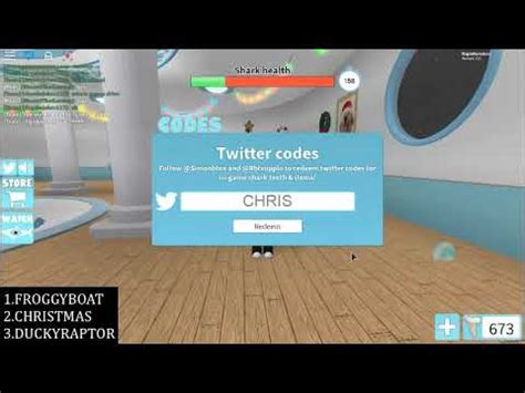 shark bite twitter roblox  strucidcodescom