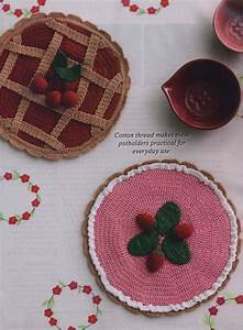Pie Shaped Potholders Crochet Pattern  U22c6 Crochet Kingdom
