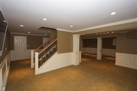 Custom Design Home Carpentry Llc by Hcc Basements Traditional Basement Philadelphia By