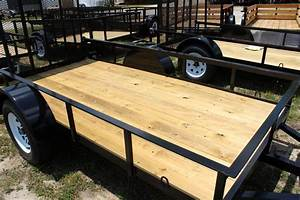 2016 other horton 5x10 landscaping trailer with wood for Utility trailer flooring