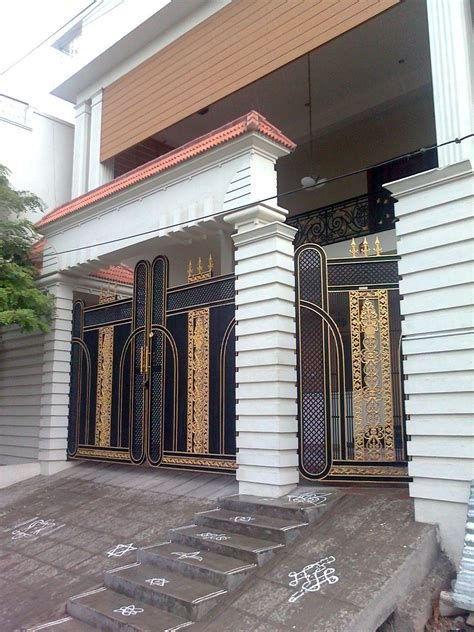 contemporary gate designs for homes wrought iron driveway gates designs design valiet org contemporary clipgoo