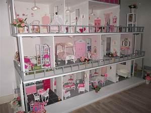 Maison De Barbie Grand Luxe 3 6 Ans Activits Diverses