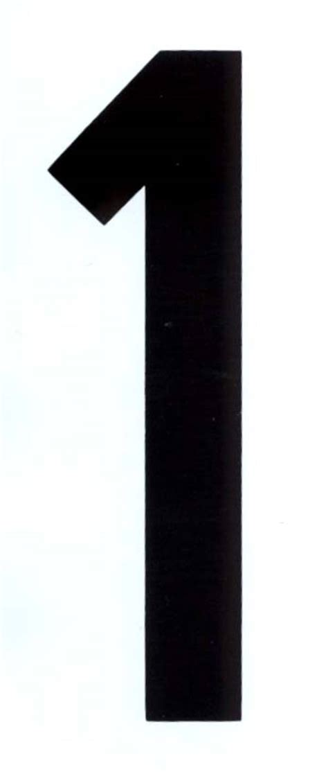 number  black  white adhesive mm