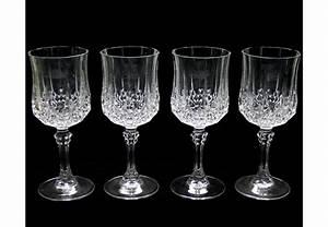 Vaisselle En Verre : verre a vin en cristal d 39 arques vaisselle maison ~ Teatrodelosmanantiales.com Idées de Décoration