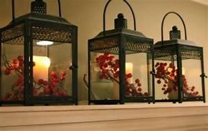 Lanterne Deco Interieur : d coration lanterne no l 33 magnifiques exemples ~ Teatrodelosmanantiales.com Idées de Décoration