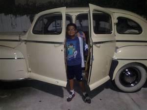 1948 Ford Super Deluxe 4 Door  Suicide Rear Doors