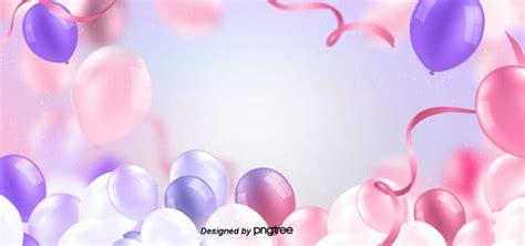 happy birthday celebration design  balloon color pink