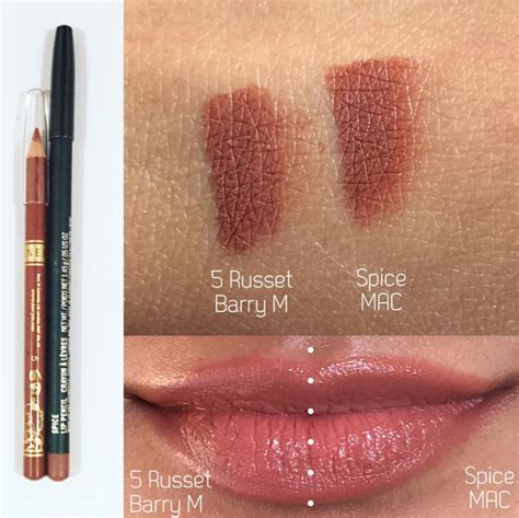 mac spice lip pencil dupes blush