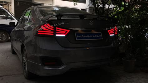Maruti ciaz is asthetically better than city because it has well proportionate dimensions and have smooth curves while city is more edgier than its both cars come with touchscreen infotainment systems but ciaz comes with apple carplay support as well.both models are loaded with features. Maruti Suzuki Ciaz Concept Led Tail Lamps V1