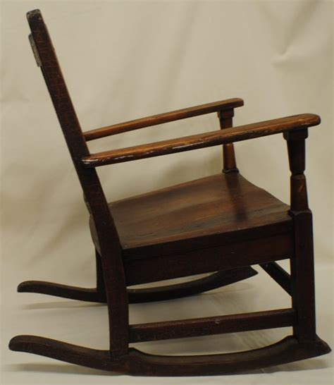 stickley mission style rocking chair lot 201
