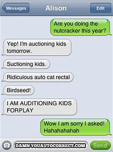 Damn You Autocorrect! | Live, Laugh, Learn
