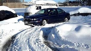 Jaguar X Type 3 0 V6 : jaguar x type 3 0 v6 on snow youtube ~ Medecine-chirurgie-esthetiques.com Avis de Voitures
