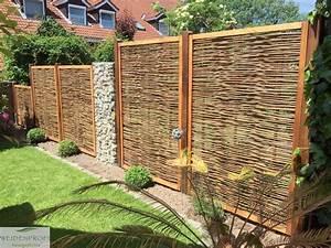 Gartengestaltung Mit Holz : mein balkon meine privatsph re mein sichtschutz weidenprofi gmbh weidenz une ~ Watch28wear.com Haus und Dekorationen