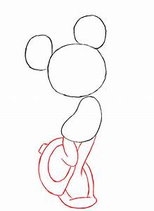 How To Draw Minnie Mouse - Draw Central