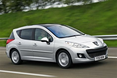 peugeot 207 new peugeot 207 hatch sw and outdoor receive new 112hp diesel